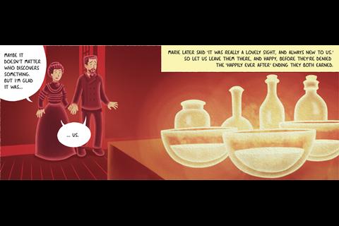 IYPT Comic – Radium part 2 – Frame 12